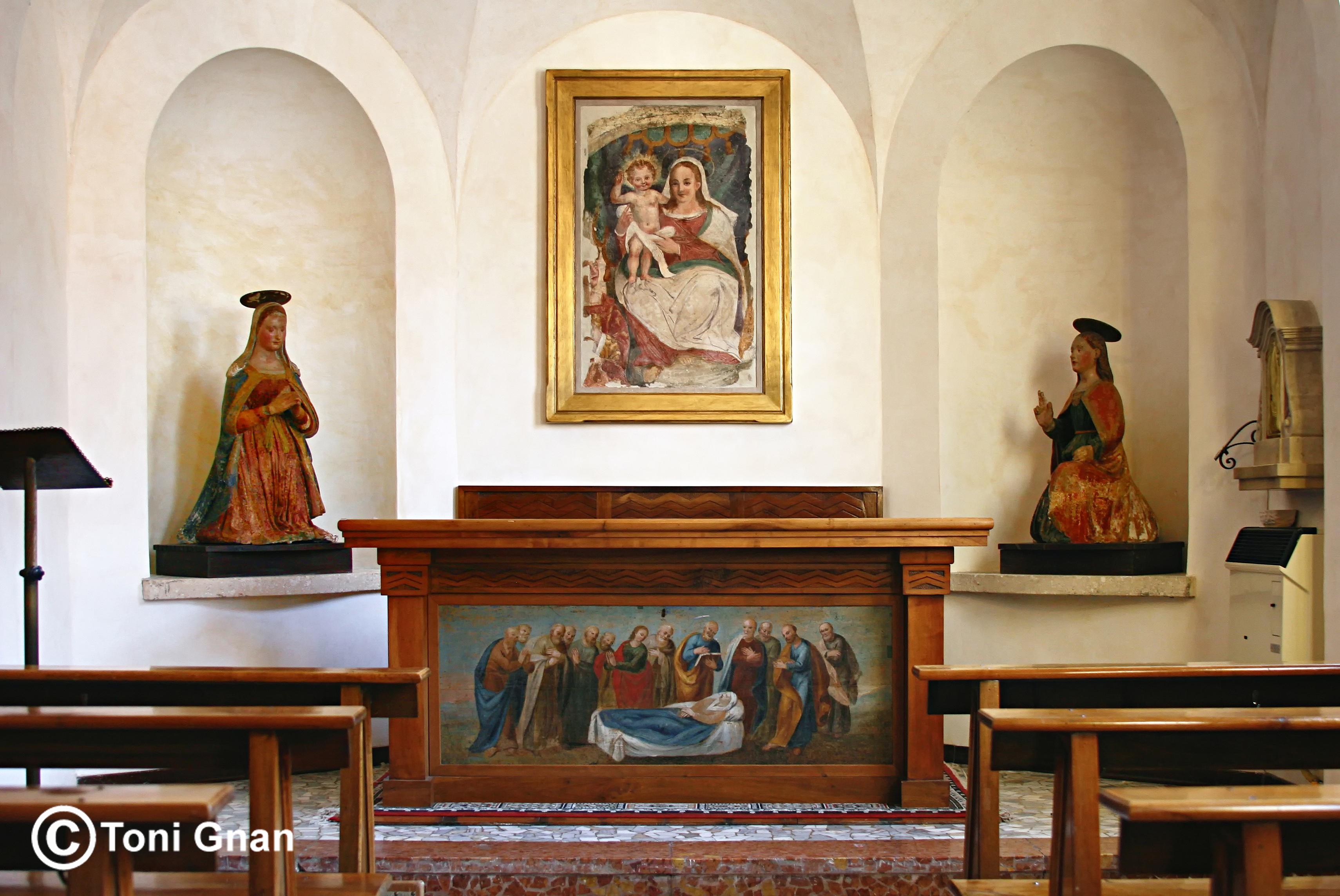 Altare Cappella Dormitio
