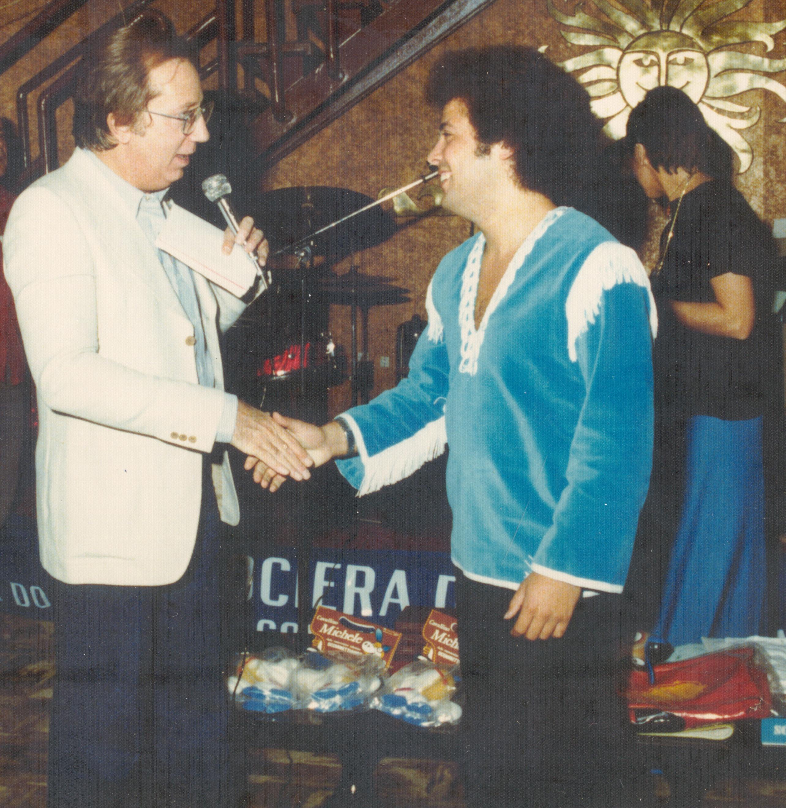 Lucio Con Mike Bongiorno