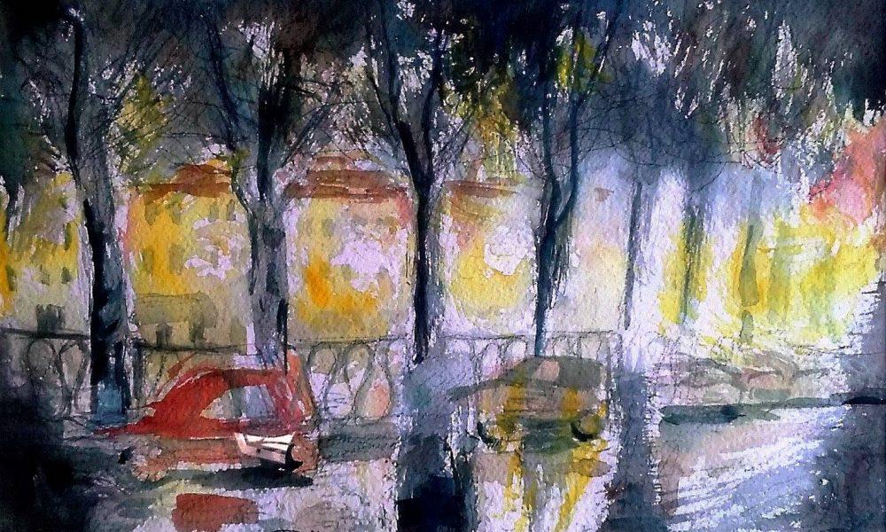 """""""vecchi Tigli In Piazza Cavour"""""""