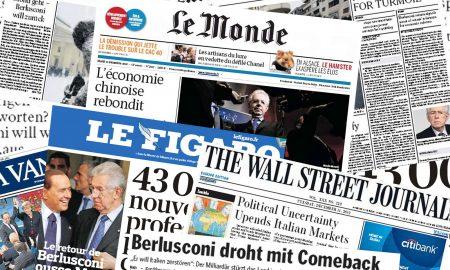 Stampa Estera, L'italia Inquieta L'europa