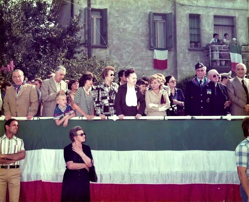 Bottrighe, Inaugurazione Monumento Maddalena Sett 1978