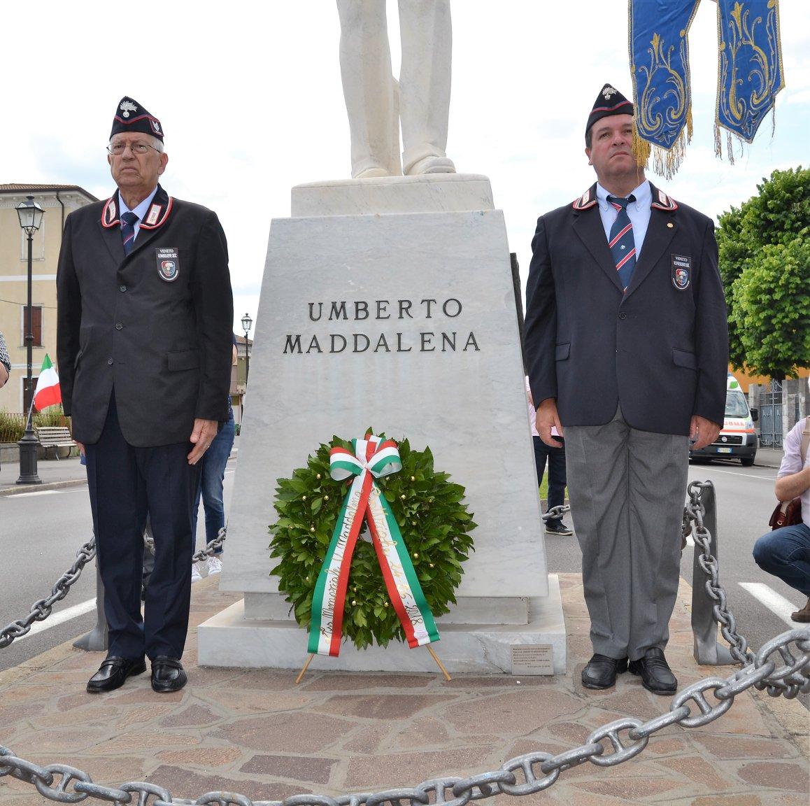 Bottrighe Commemora Umberto Maddalena24 6 2018