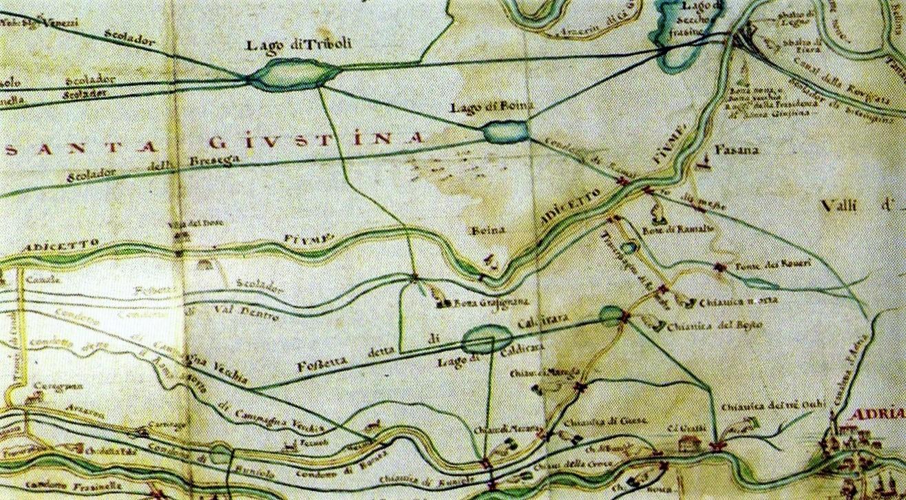 Mappa Cà Emo Laghi