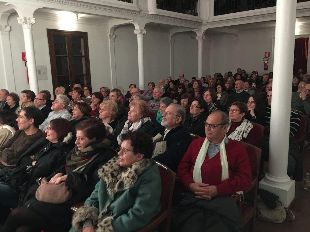 Teatro Ferrini Adria tre grandi concerti-Il pubblico del Ferrini