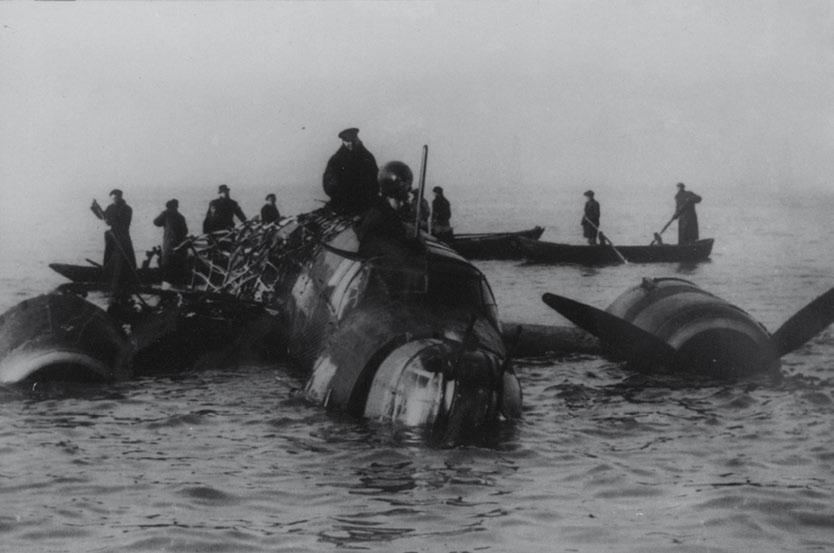Aerei Perduti Polesine la guerra aerea nel delta del po-Aereo Precipitato nel delta
