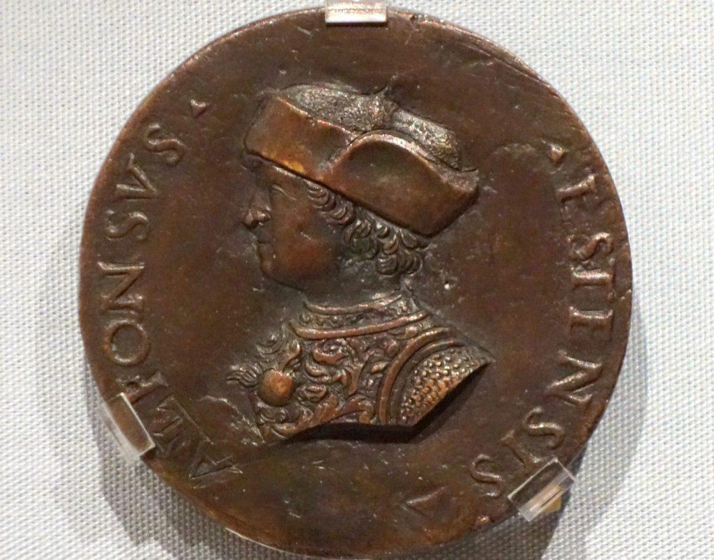 Continua la storia di Adria tra Ferrara e Venezia - Medaglia di Alfonso I d'Este