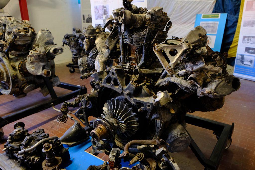 Aerei Perduti Polesine la guerra aerea nel delta del po-Motori di aereo