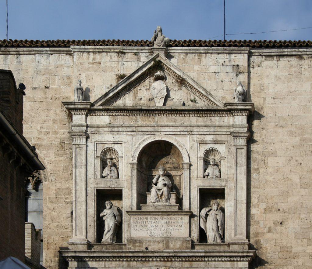 Continua la storia di Adria tra Ferrara e Venezia - Monumento a Papa Giulio II