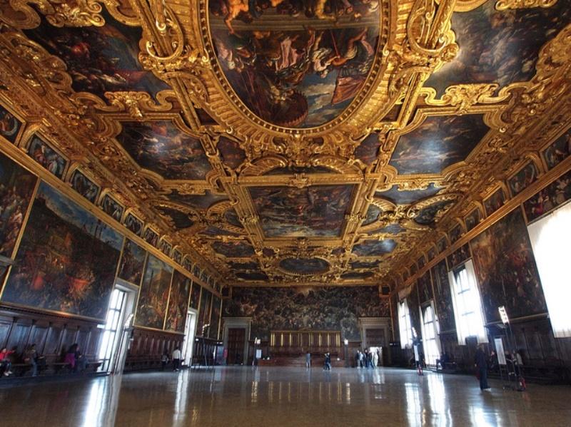 Continua la storia di Adria tra Ferrara e Venezia - Sala del Maggior Consiglio