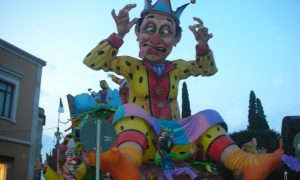 Carnevale adriese by night-Carro allegorico