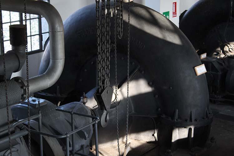 macchine idrovore la loro storia- turbina