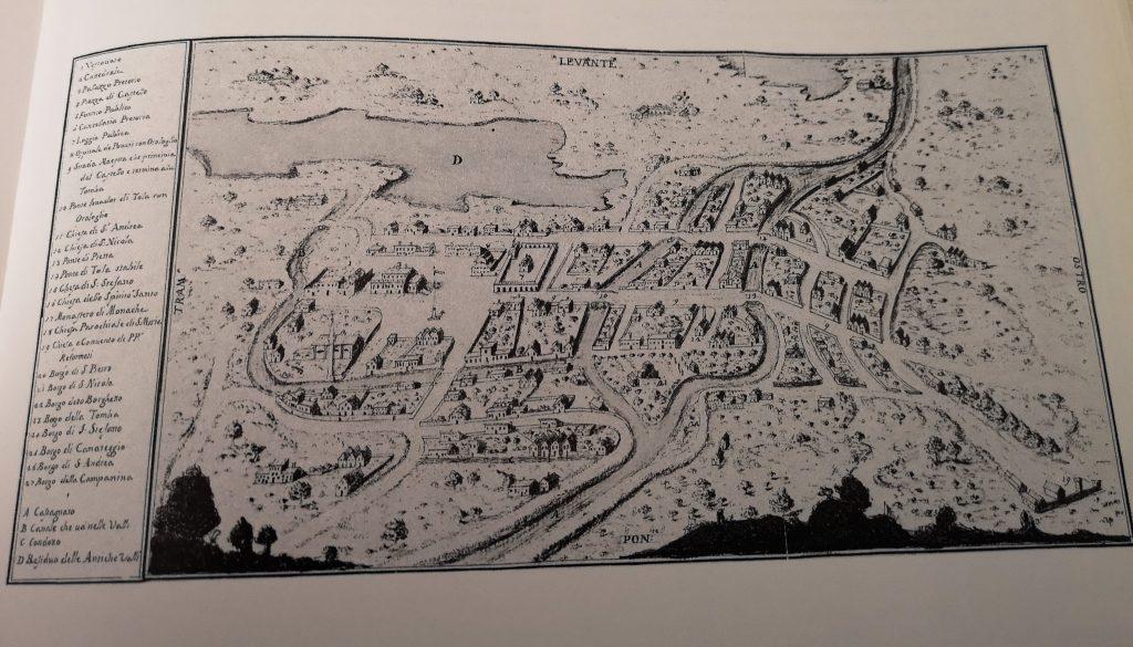 Adria città preziosa per Venezia fino al crepuscolo della Serenissima - Mappa 1747