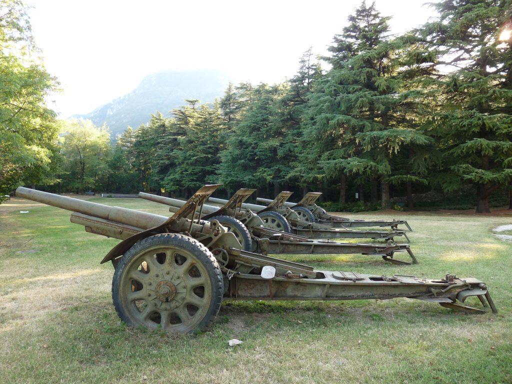 Gian Giacomo Badini di Bellasio - cannone da 105/28