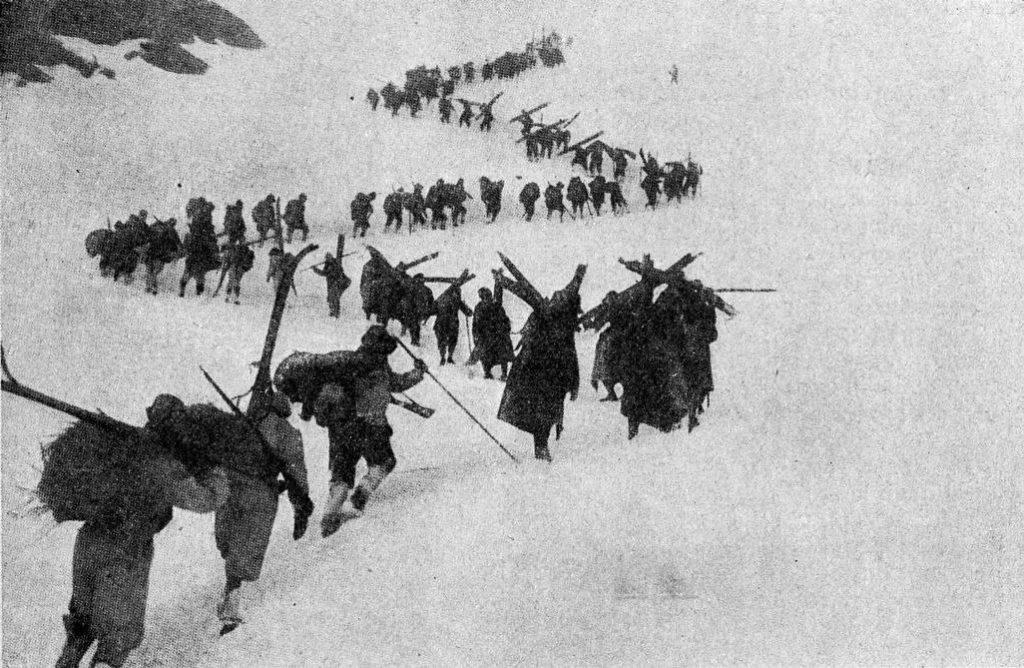 Adria e gli Alpini - Alpini in marcia
