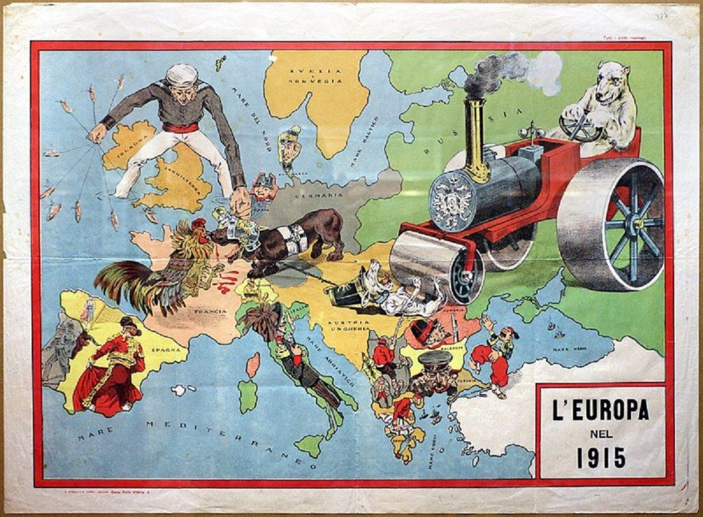 Gian Giacomo Badini un eroe adriese - L'europa Nel 1915, Ed. Ronchi Varoli,