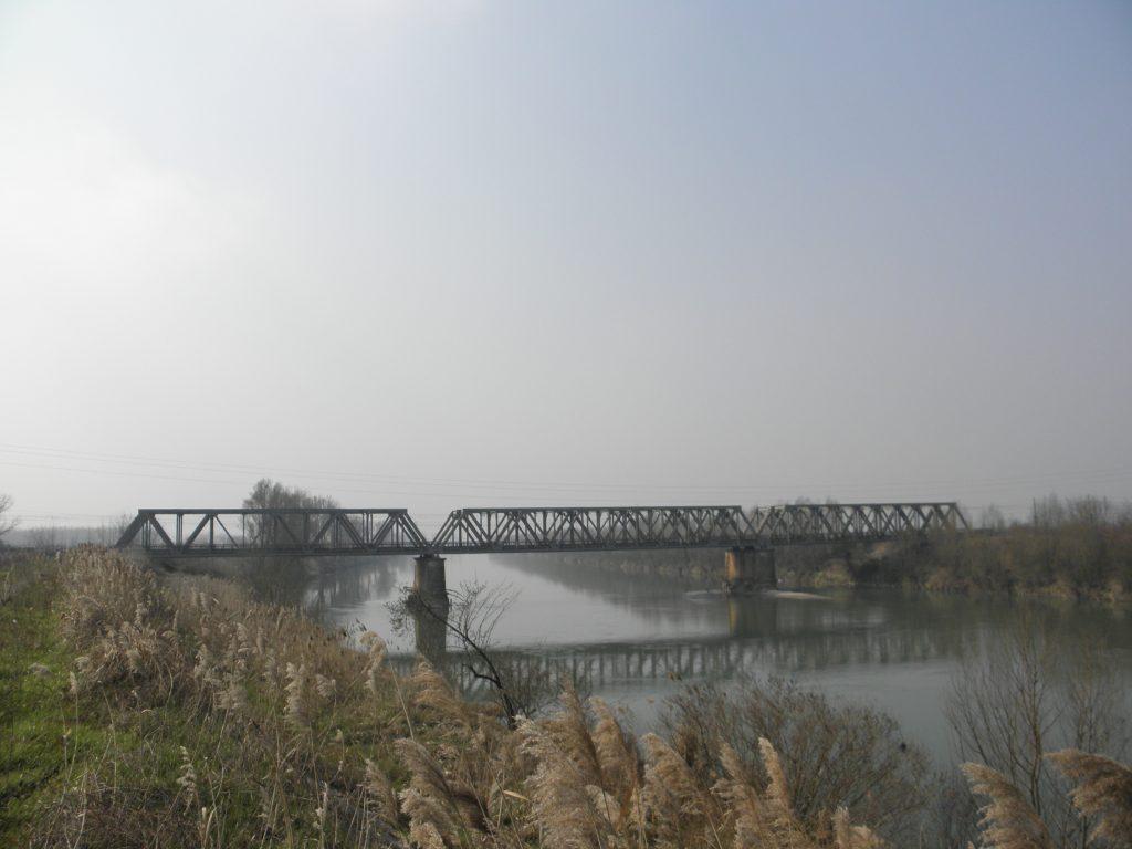 Adria tra X e VII secolo - Adige Railway Bridge (4) (granzette)