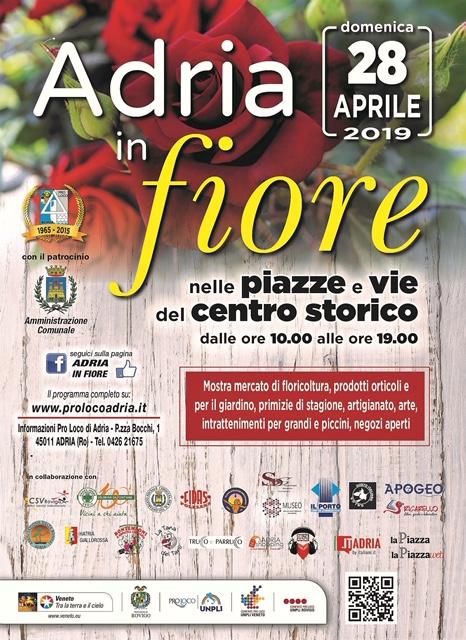 Adria in fiore 13^ edizione-locandina