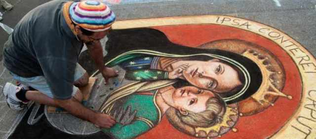 Adria primo concorso di arte madonnara- Artista di Strada