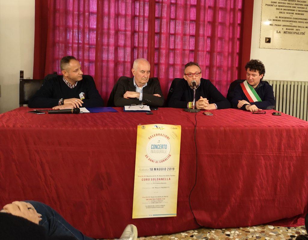 Il Soldanella e i suoi 65 anni di coralità - La conferenza stampa per il 65° anniversario del Coro
