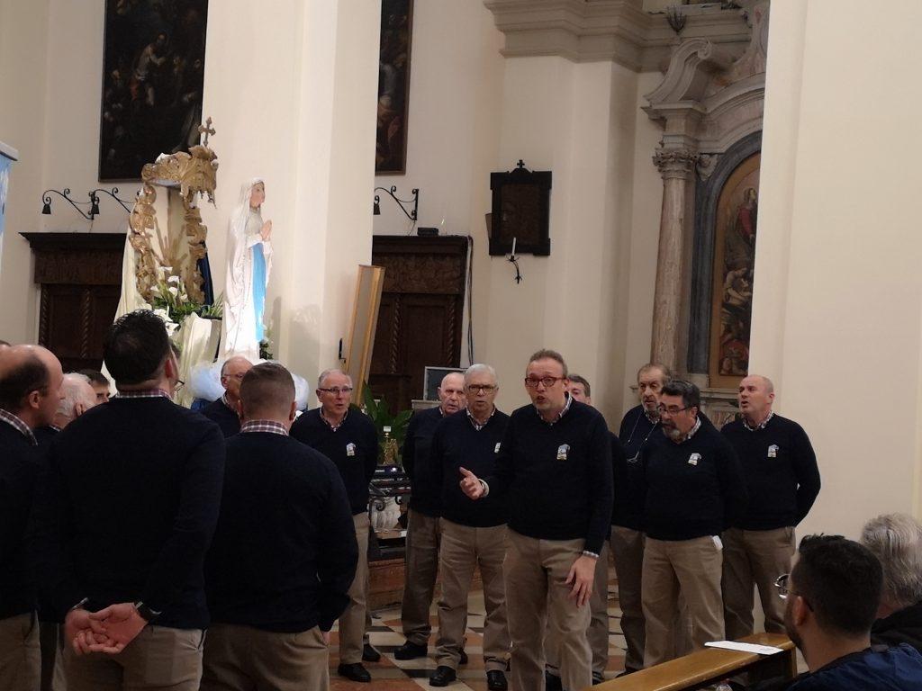 Il Soldanella e i suoi 65 anni di coralità - Il Coro durante il concerto del 18 maggio u.s.