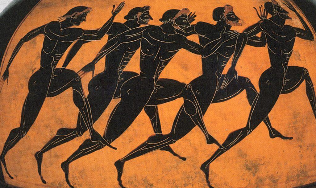 Adria colonia commerciale greca - Atleti foto Il Classicista
