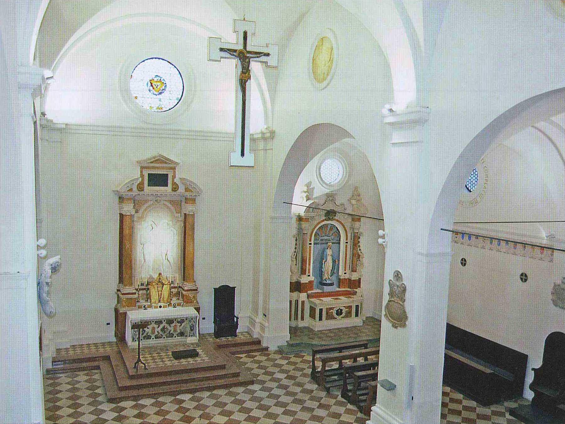 Gaetano Samoggia - interno della Chiesa di San Giovanni