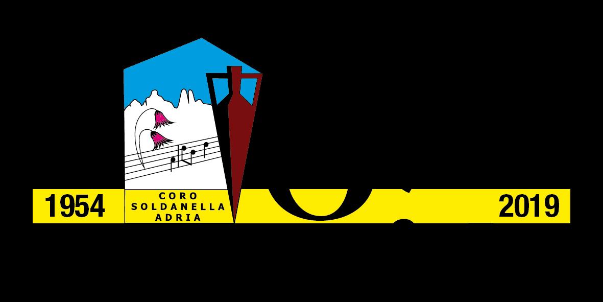 coro soldanella 65 anni- Logo Soldanella