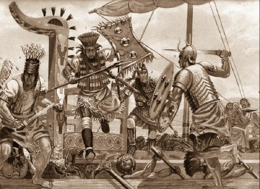 Adria e i suoi dei - Guerrieri Pelasgi