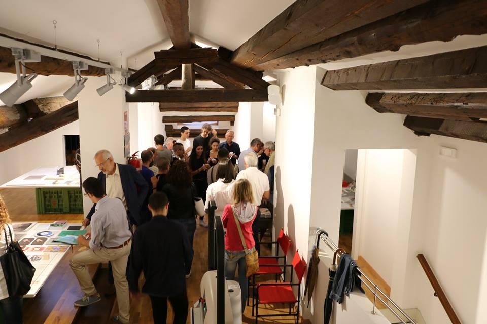 Adria nascosta - foto di una sala del Museo d'Arte di Adria e del Delta durante l'inaugurazione di una mostra