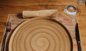Birra e salumi polesani - piatto di terracotta