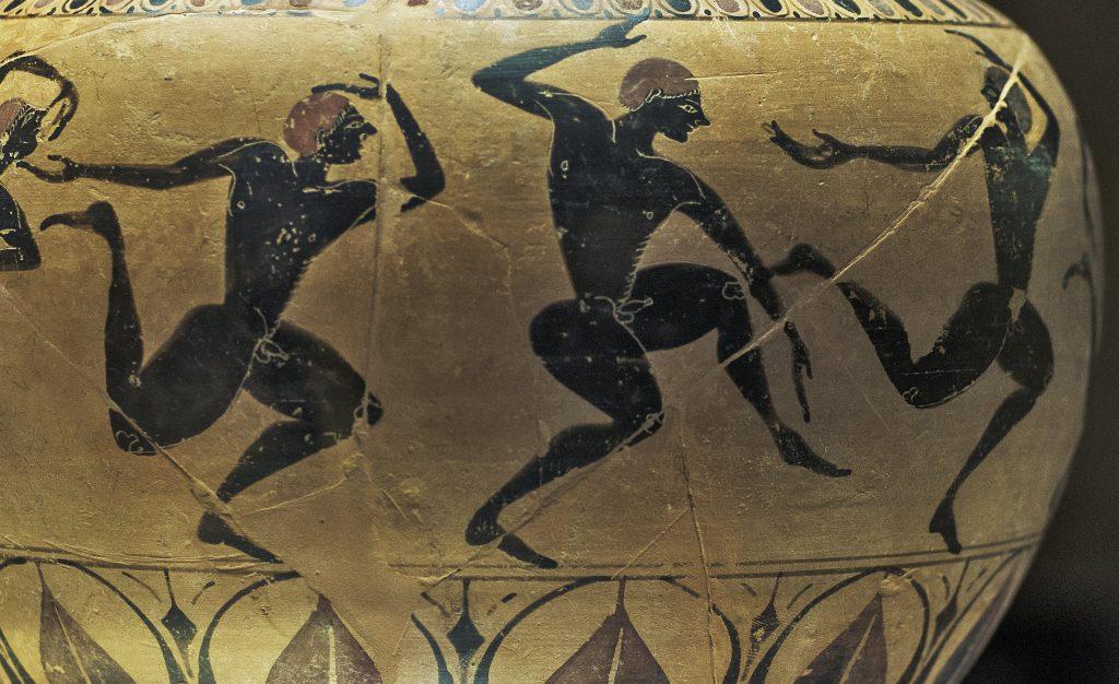 Vaso Greco foto museo archeologico di Firenze