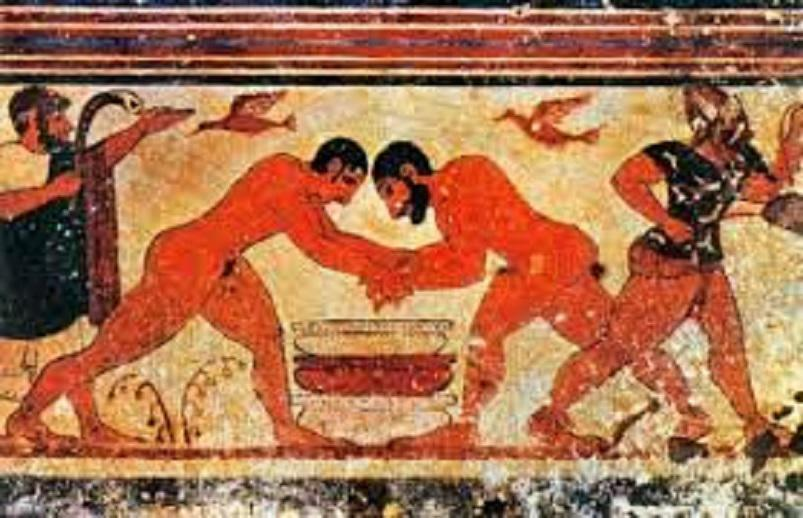 Adria e i conquistatori Etruschi - Affresco