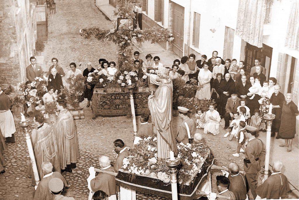 San Pietro e Paolo - Processione del 1955
