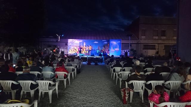 La Chiesa di San Vigilio - spettacolo del concorso La Raganella