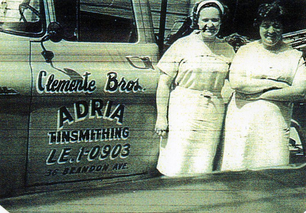 Duilio Clemente - vettura della ditta Clemente