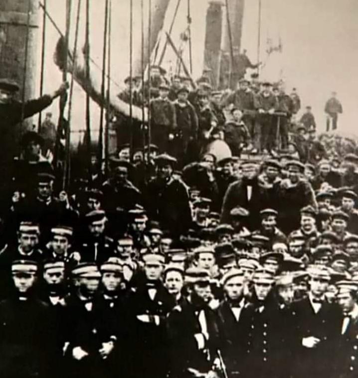 Lissa 20 luglio 1866- Tegetthoff Con I Suoi Uomini