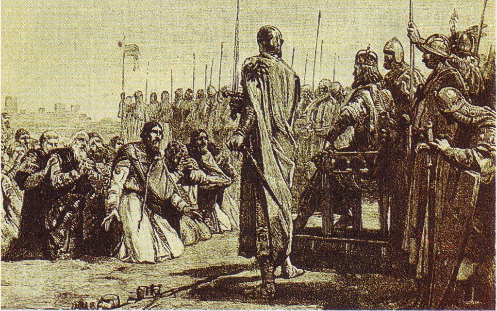 Cavarzere città divisa Federico Barbarossa