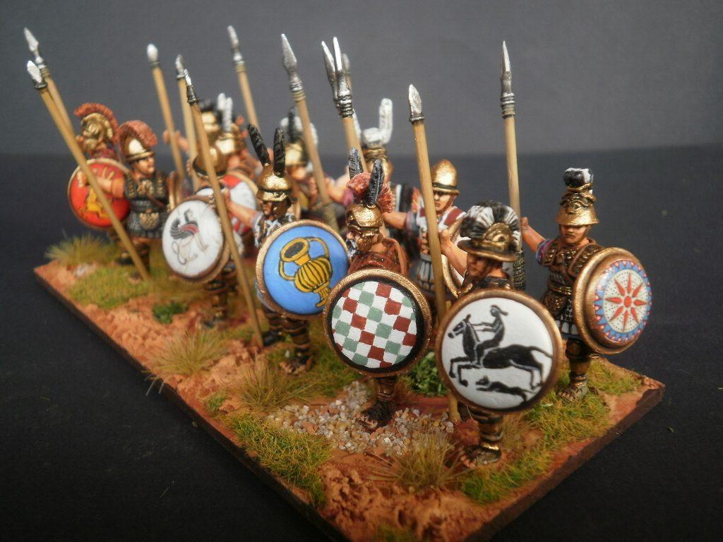 Adria e le invasioni dei Galli, guerrieri etruschi