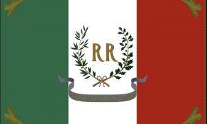 Bandiera Della Repubblica Romana Foto Democrazia Pura