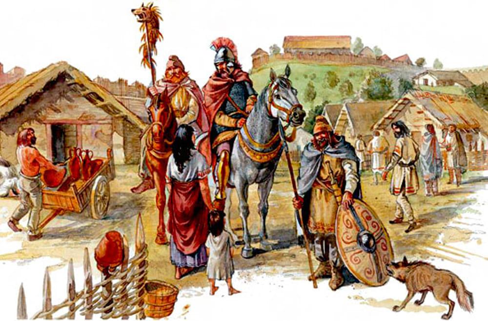 Adria e i dominatori latini - Guerrieri Celti