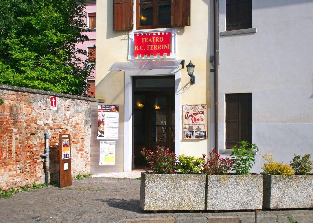Entrata Teatro Ferrini Adria
