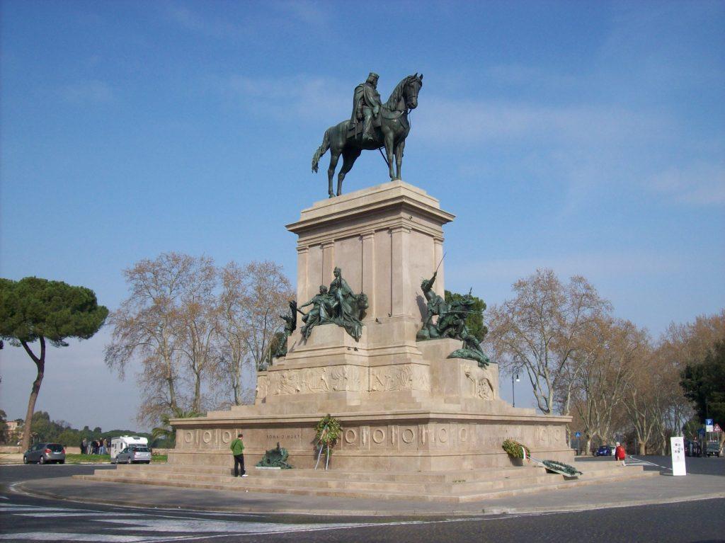 Il mio nome è Giacinto - Roma Gianicolo Monumento A Giuseppe Garibaldi Foto Wikipedia
