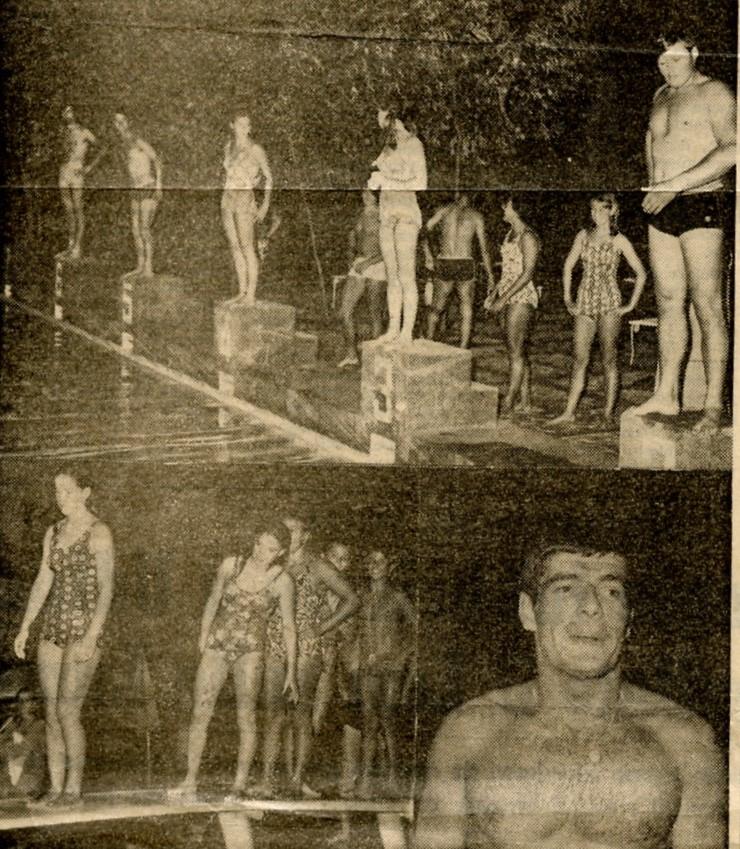 Giochi Senza Frontiere - Immagini dei giochi in piscina con la squadra di Adria