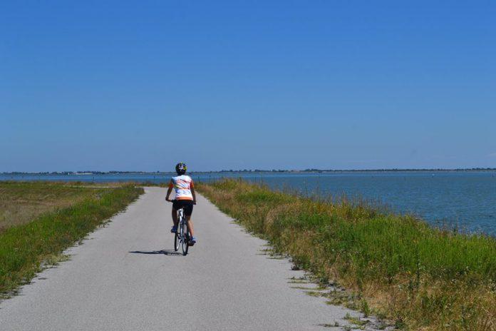 Po Di Maistra - bicicletta lungo l'argine