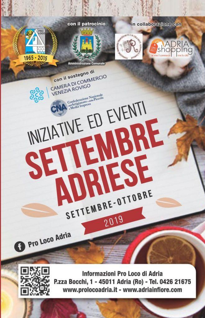 Torna il Settembre Adriese - locandina
