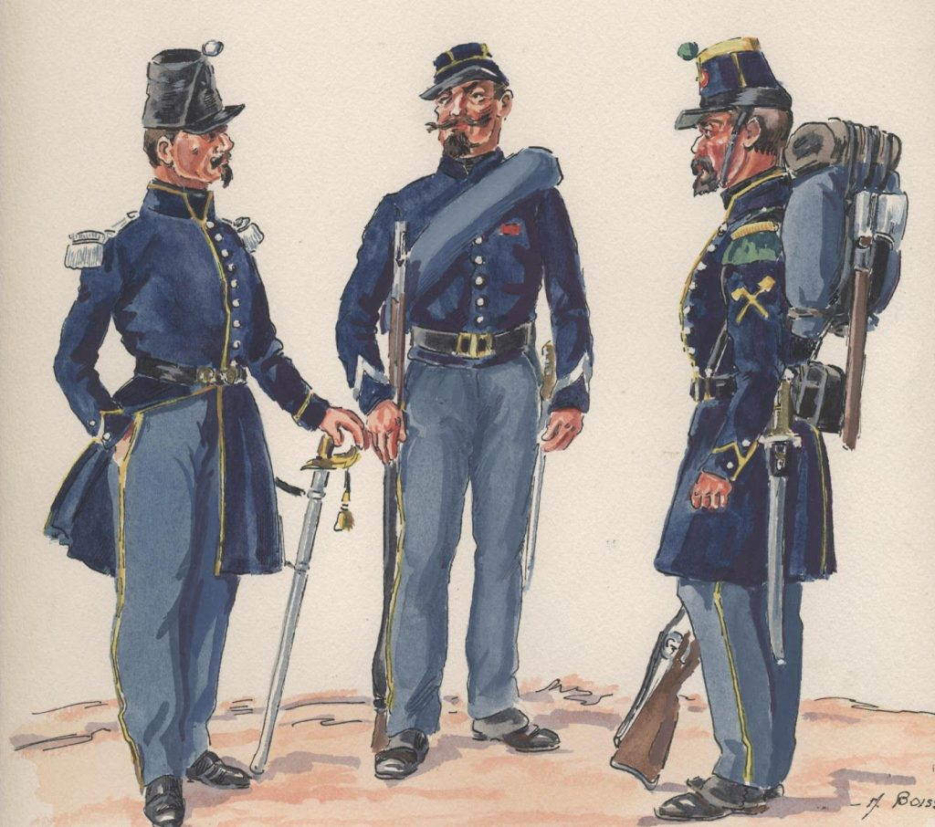 Mi chiamo Giacinto Soldati Francesi Del Contingente Del Generale Oudinot