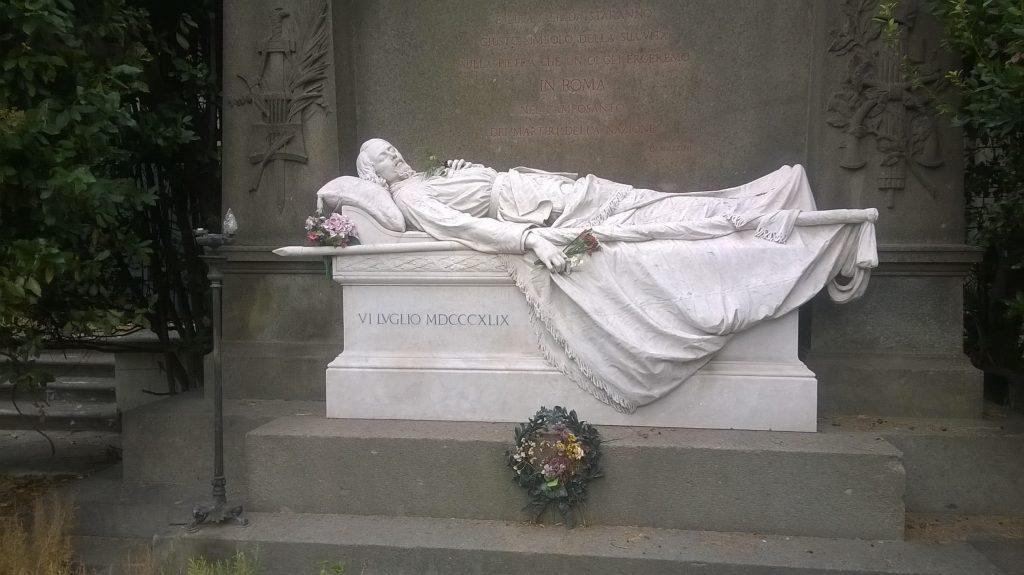 Mi chiamo Giacinto Monumento A Goffredo Mameli Roma Cimitero Del Verano Foto Wikimedia.jpg