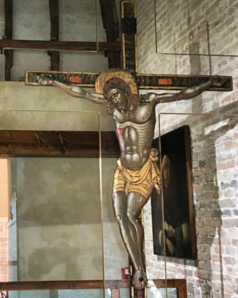Crocefisso Di Lepanto Nel Museo Della Cattedrale Di Adria