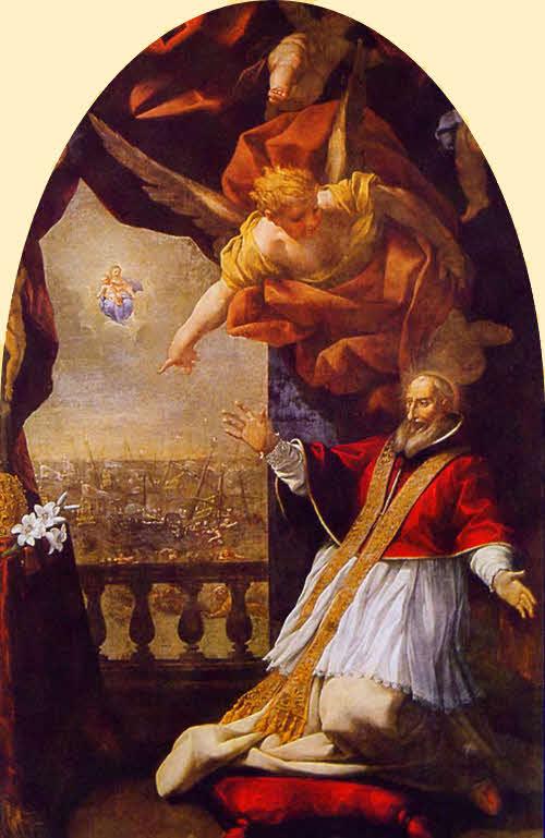 Papa pio V E La Visione Di Lepanto