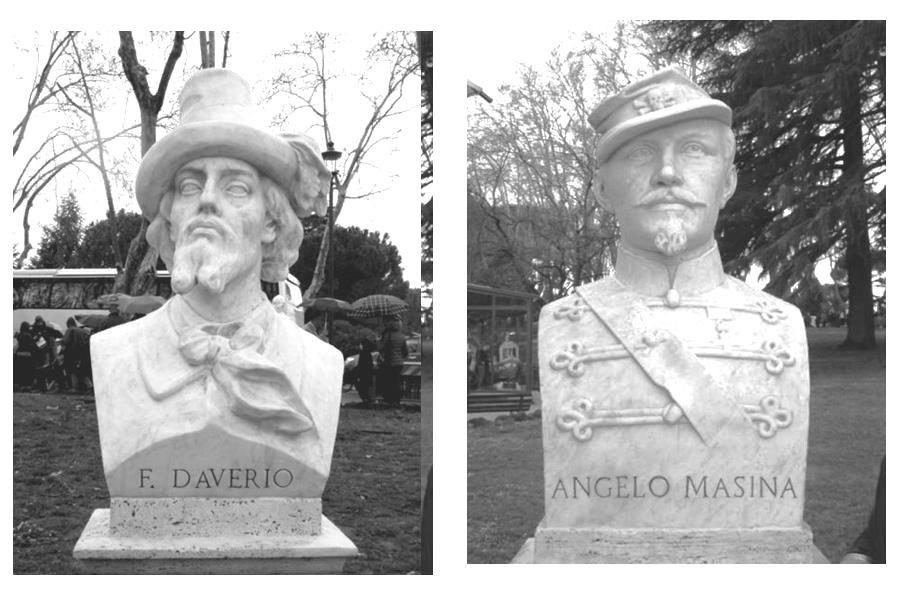 Mi chiamo Giacinto - I Busti Di Daverio E Masina Al Gianicolo Foto Gruppo Lazio Di Ricerca